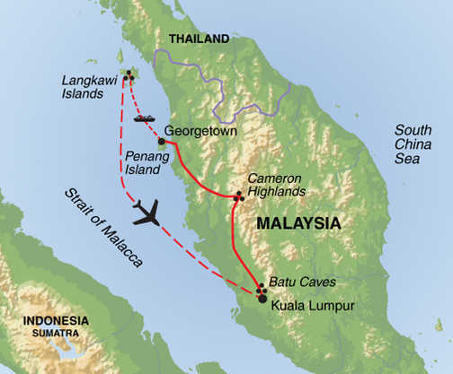 Trip BBB - Map