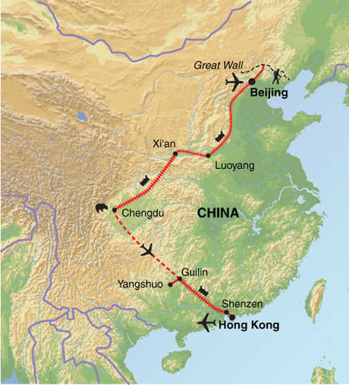 FIC Trip Map