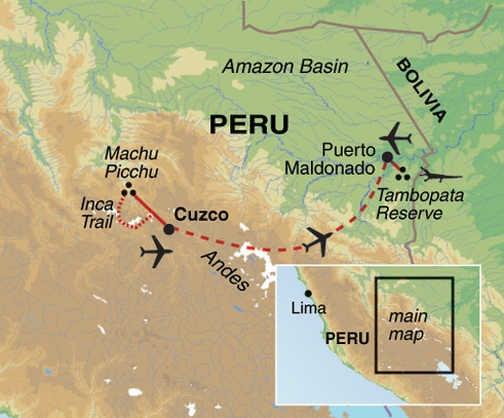 FNP Trip Map