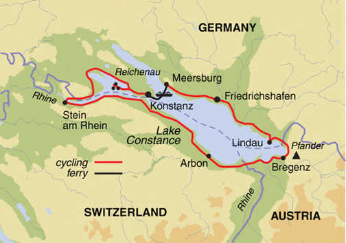 Headwater - Lake Constance Self-Guided Cycling on plochingen germany map, bad sachsa germany map, neuenstein germany map, staufen im breisgau germany map, esens germany map, weil der stadt germany map, bad lippspringe germany map, straubenhardt germany map, lampertheim germany map, eberstadt germany map, ochtrup germany map, hohenzollern castle germany map, lengerich germany map, weissach germany map, goerlitz germany map, feuerbach germany map, black forest germany map, runkel germany map, landsberg am lech germany map,