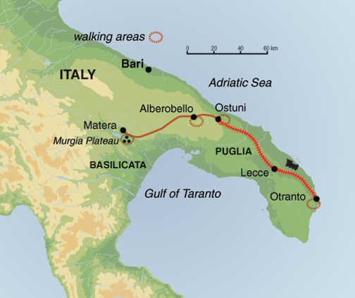 Self Guided Walking In Puglia And Matera Exodus