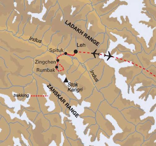 TGL Trip Map