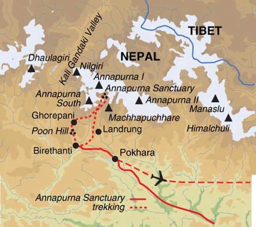 Annapurna Sanctuary Trek | Exodus