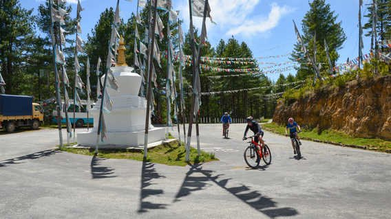 Cycling in Bhutan