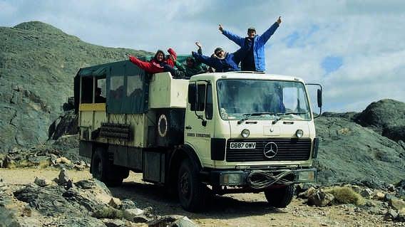 Vintage Exodus Overland Truck