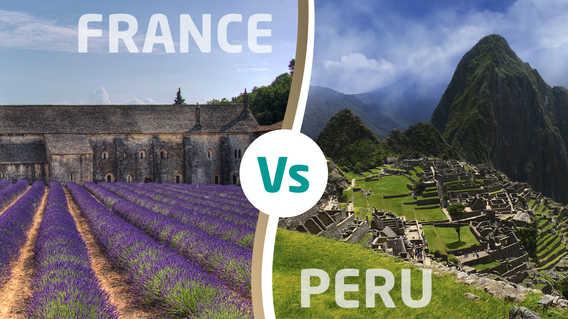 France versus Peru World Cup