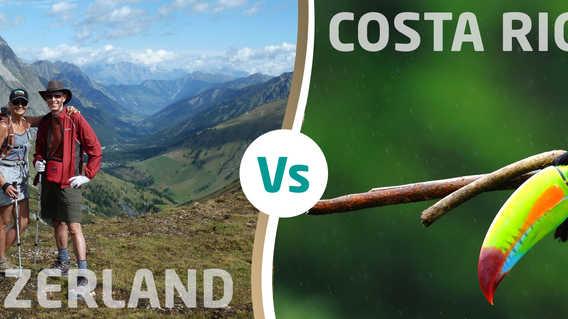 Switzerland versus Costa Rica