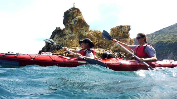 Kayaking Sicily