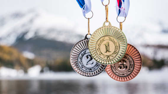 Winter Olympic Medals