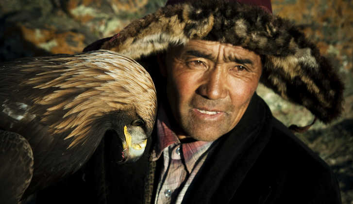 Eagle hunter, Mongolia