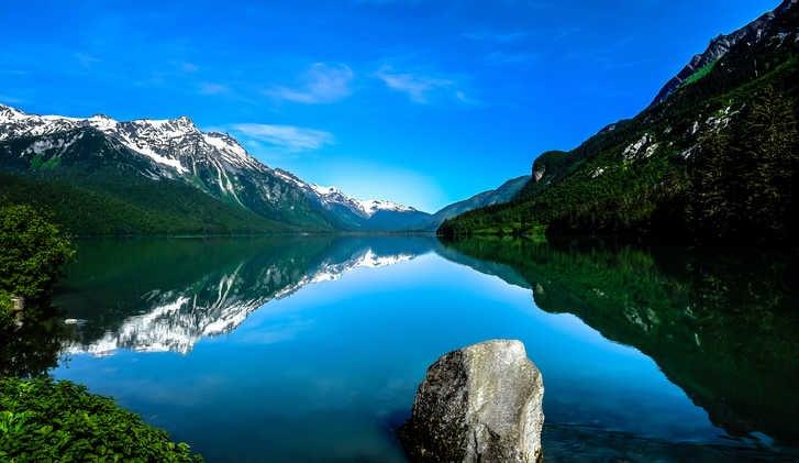 Chilkoot Lake in Haines, Alaska