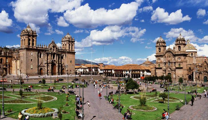 Plaza de Armas, Cuzco, Peru