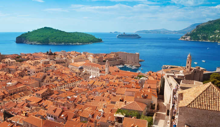 View of Dubrovnik, Croatia