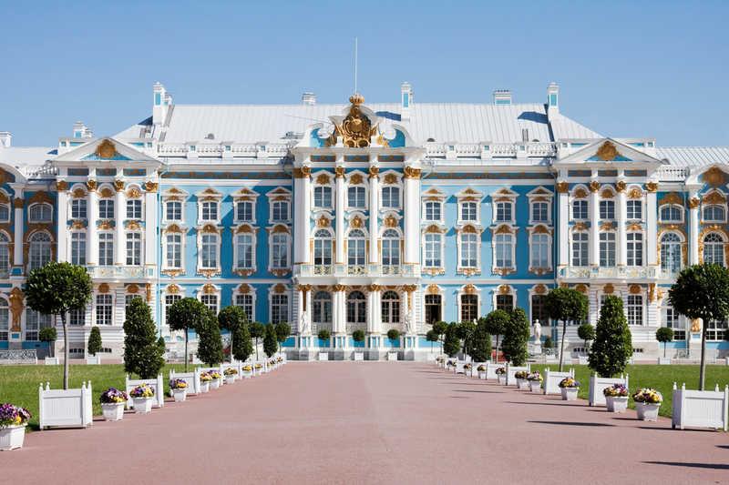 Catherine's Palace at Pushkin, St Petersburg