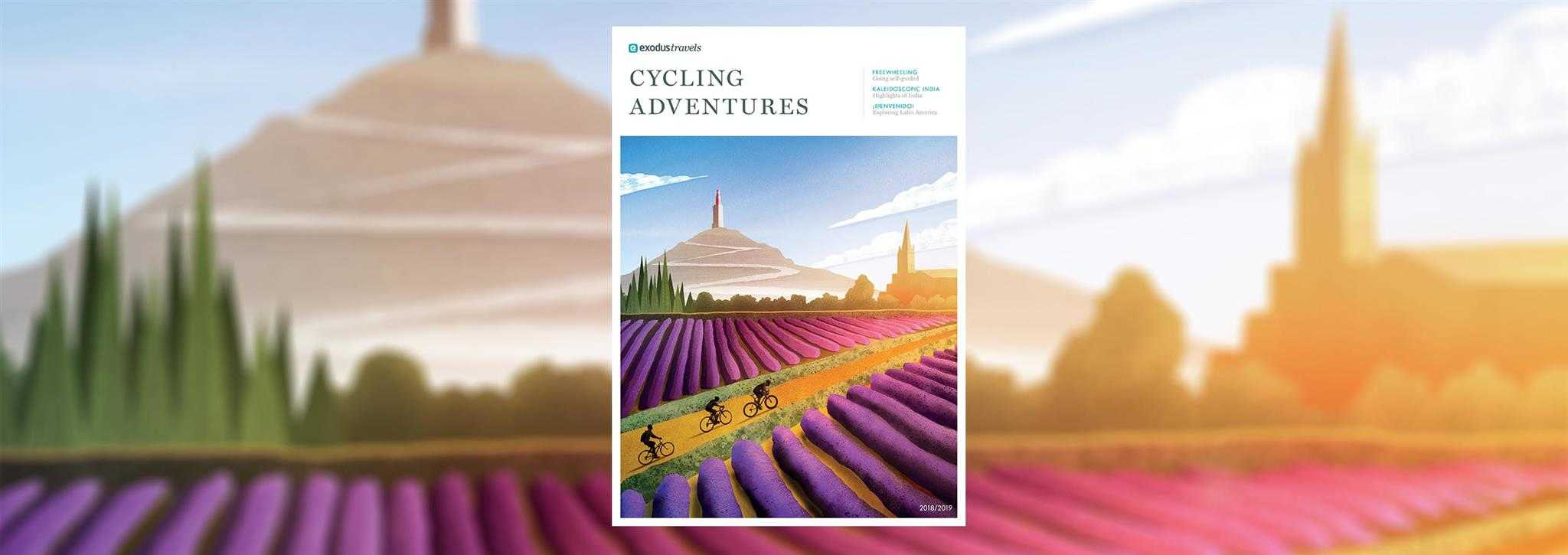 Cycling Brochure Cover