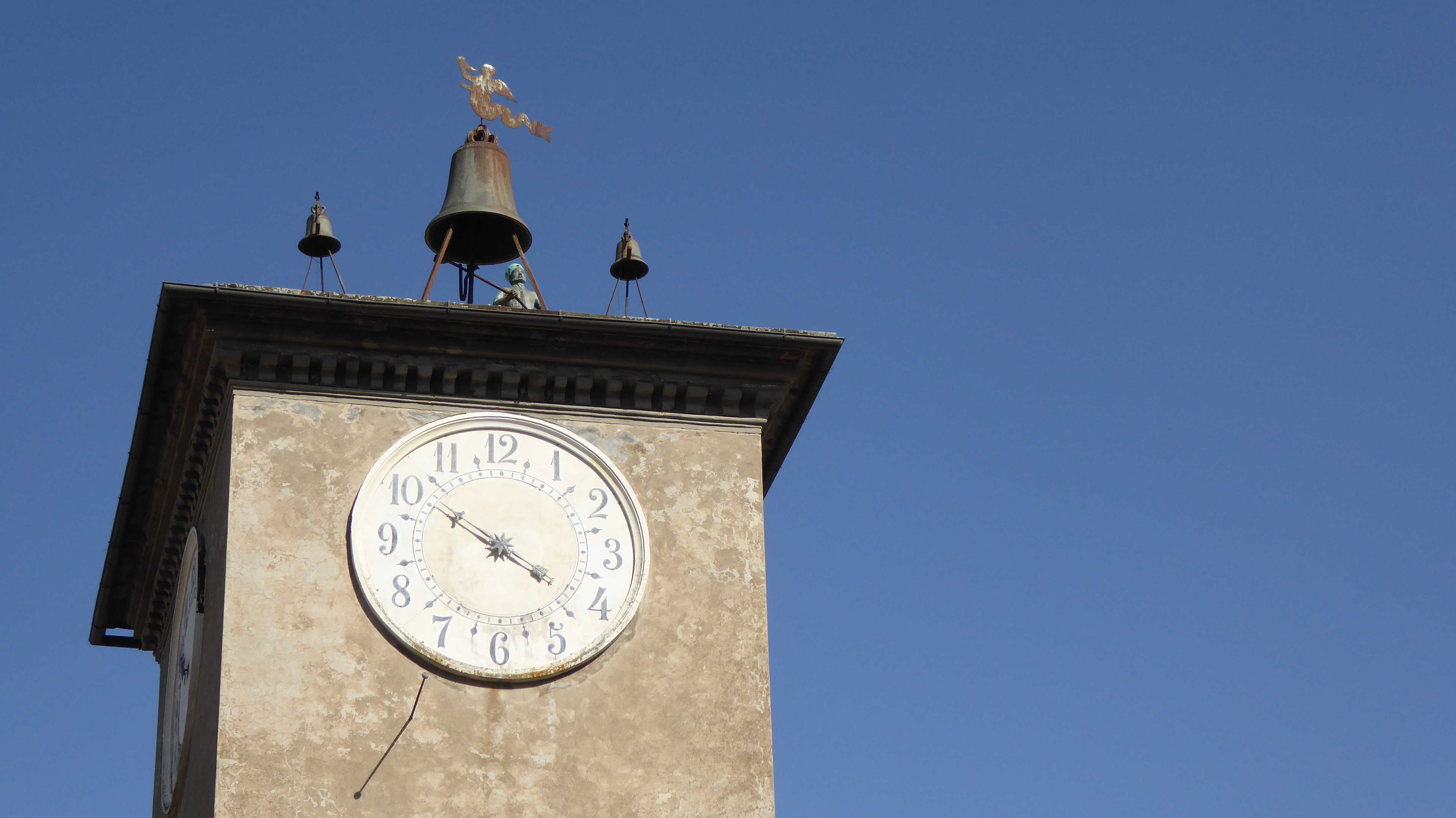 Orvieto's clock tower