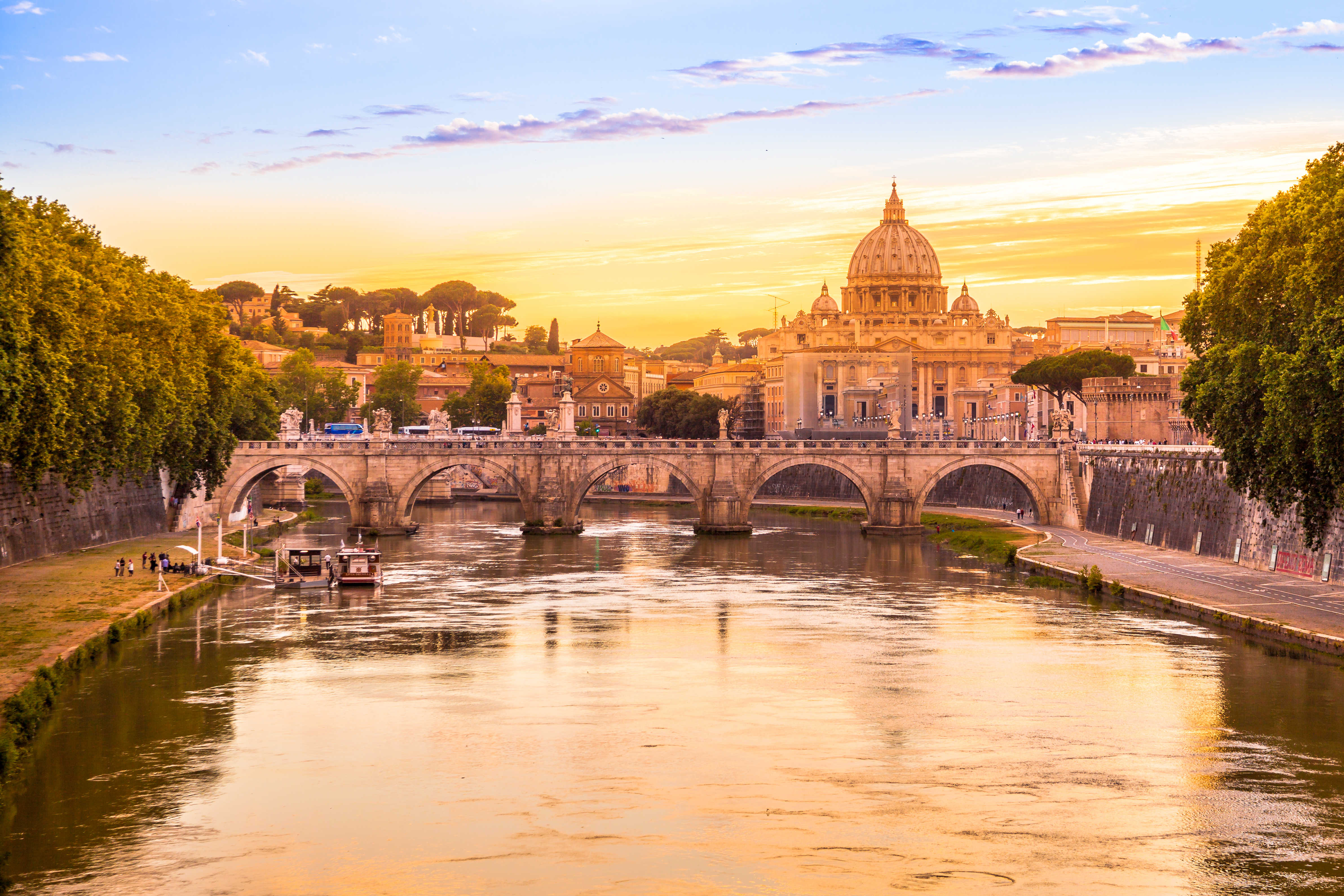 Vatican city with St. Peter's Basilica